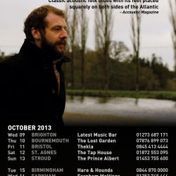 Marc O'Reilly Autumn Tour 2013