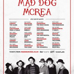 Mad Dog Mcrea - Longer Road Tour Poster