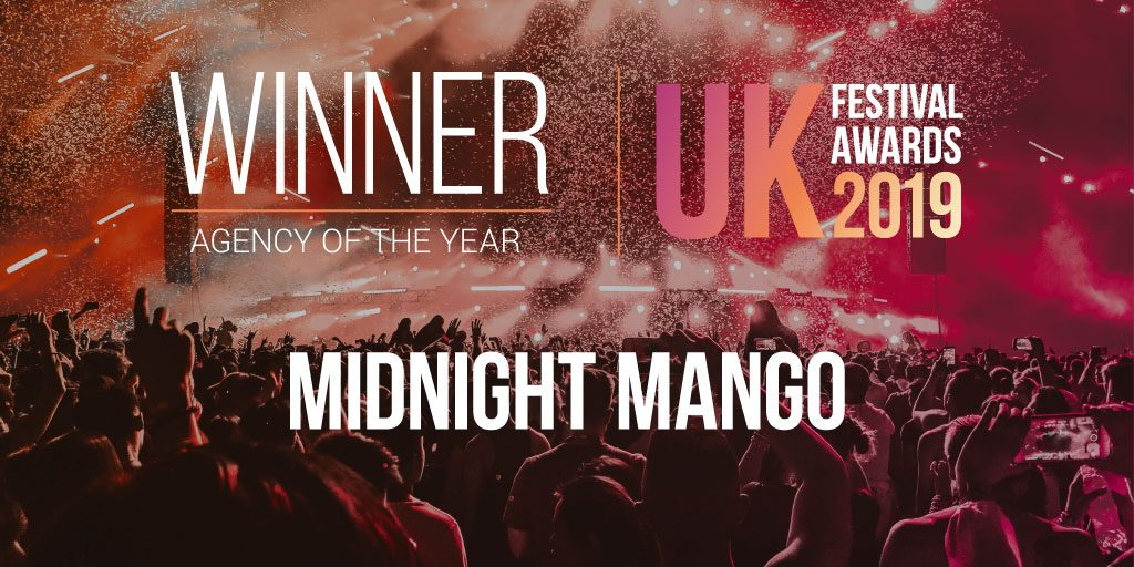 UK Festival Awards 2019 - Agency of the Year Winners