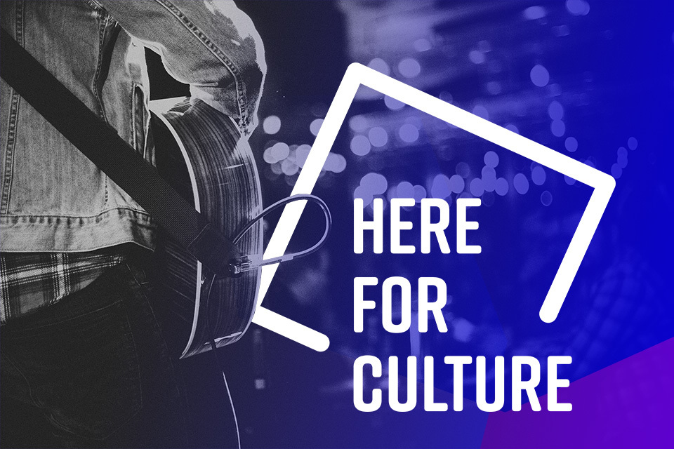 Culture Recovery Fund - Here for Culture