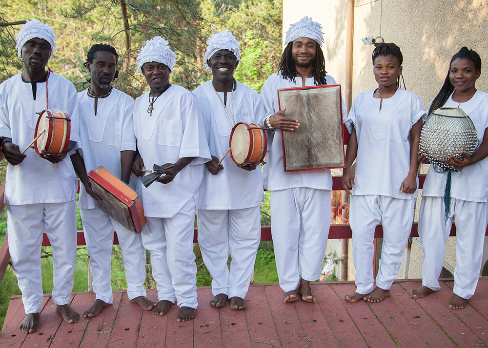 The Kakatsitsi Master Drummers