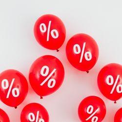 Percentage balloons